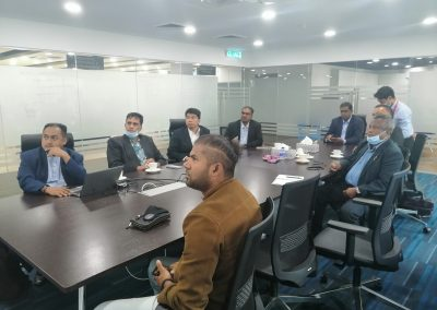 Meeting with Chairman HRDF